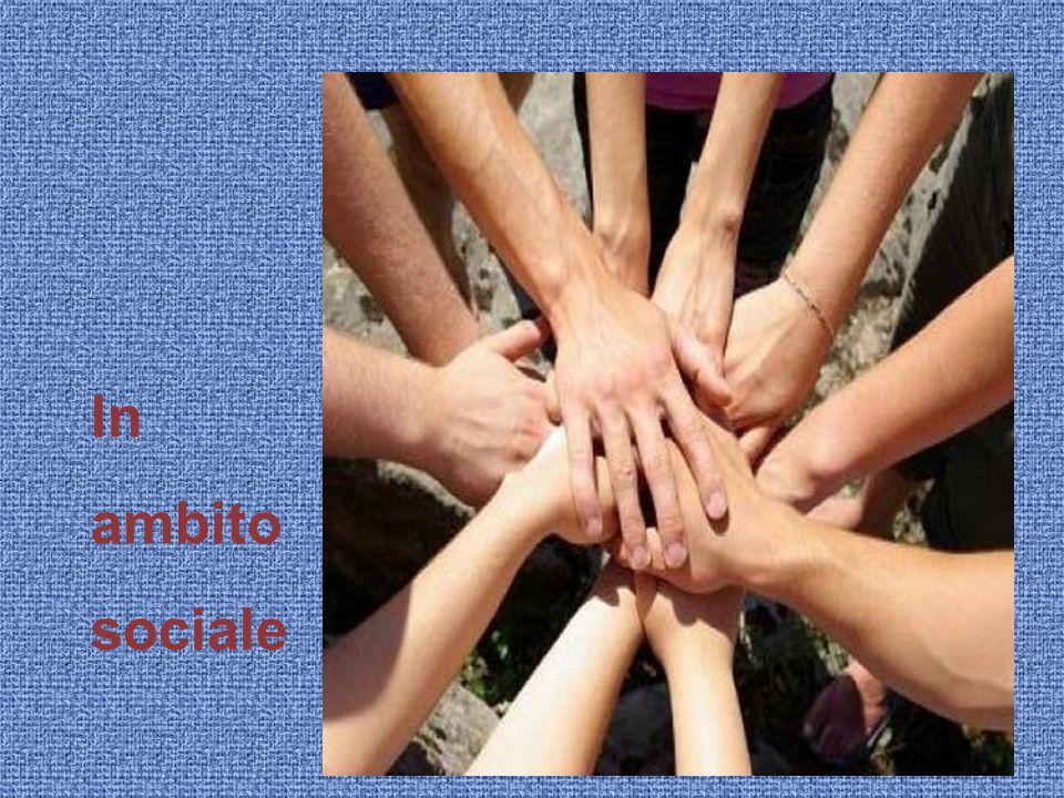 In ambito sociale