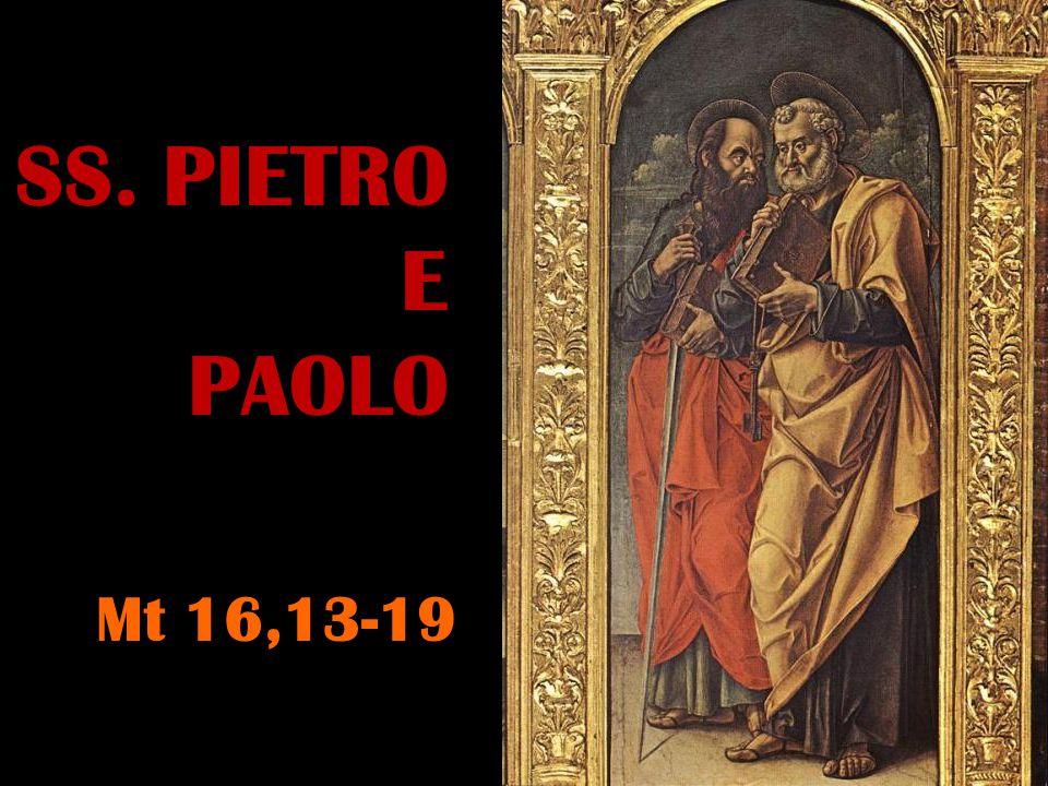 In quel tempo, Gesù, giunto nella regione di Cesarèa di Filippo, domandò ai suoi discepoli: