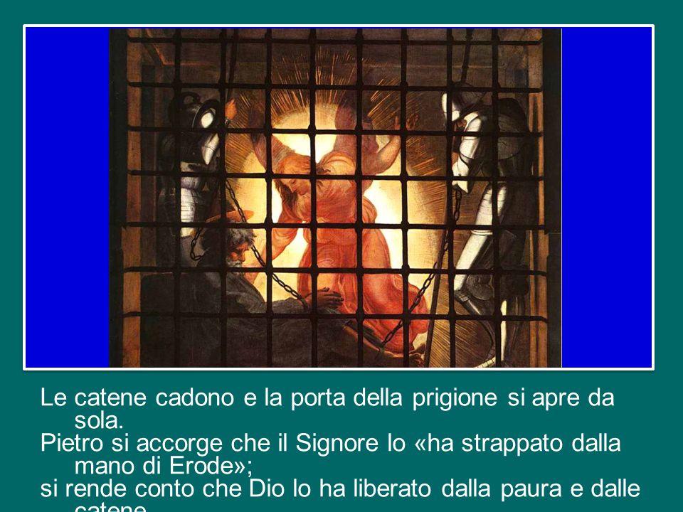 c'era ancora grande timore a causa delle persecuzioni di Erode contro alcuni membri della Chiesa. C'era stata l'uccisione di Giacomo, e ora la prigion