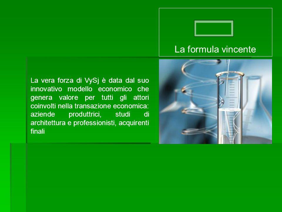 La formula VySj offre vantaggi concreti alle imprese perché agisce principalmente nell'area delle vendite, finalità primaria di ogni iniziativa.