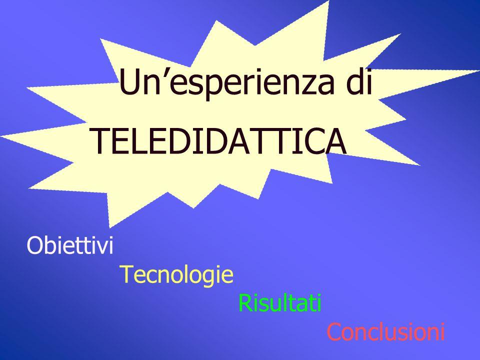 """Un'esperienza di TELEDIDATTICA Università degli studi di Bari I.R.C.C.S. """"S. de Bellis"""" Castellana Grotte Scarica la documentazione da www.irccsdebell"""