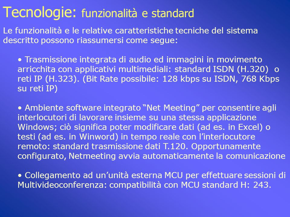 """Tecnologie: hardware configurazione minima IRCCS """"S. de Bellis"""" Castellana Grotte: Sistema Aethra SDV 9200 1 linea"""