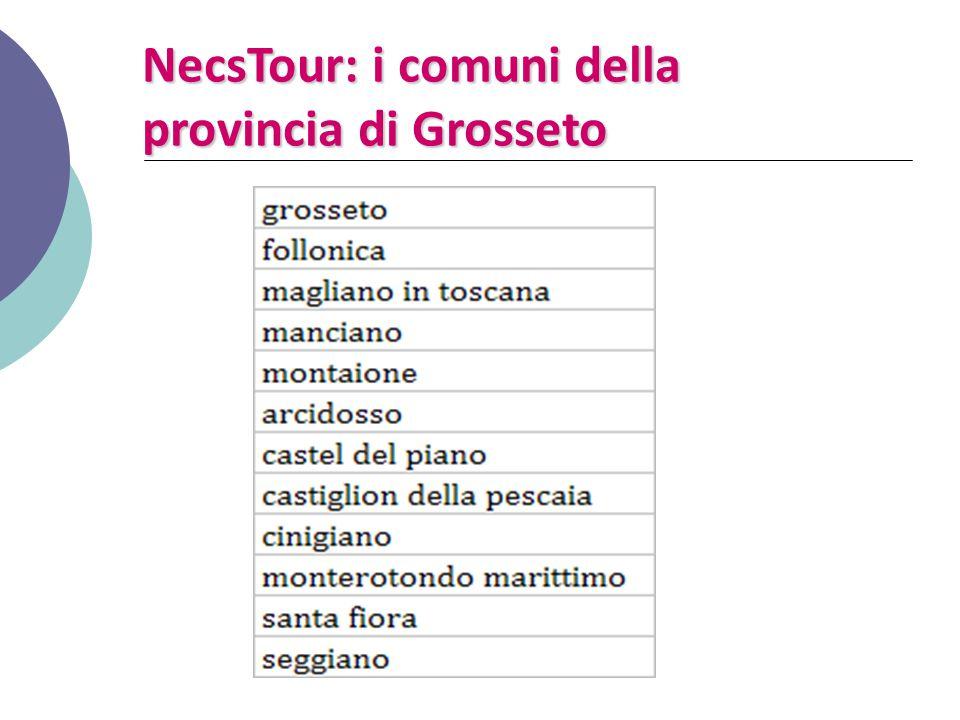 NecsTour: i comuni della provincia di Grosseto