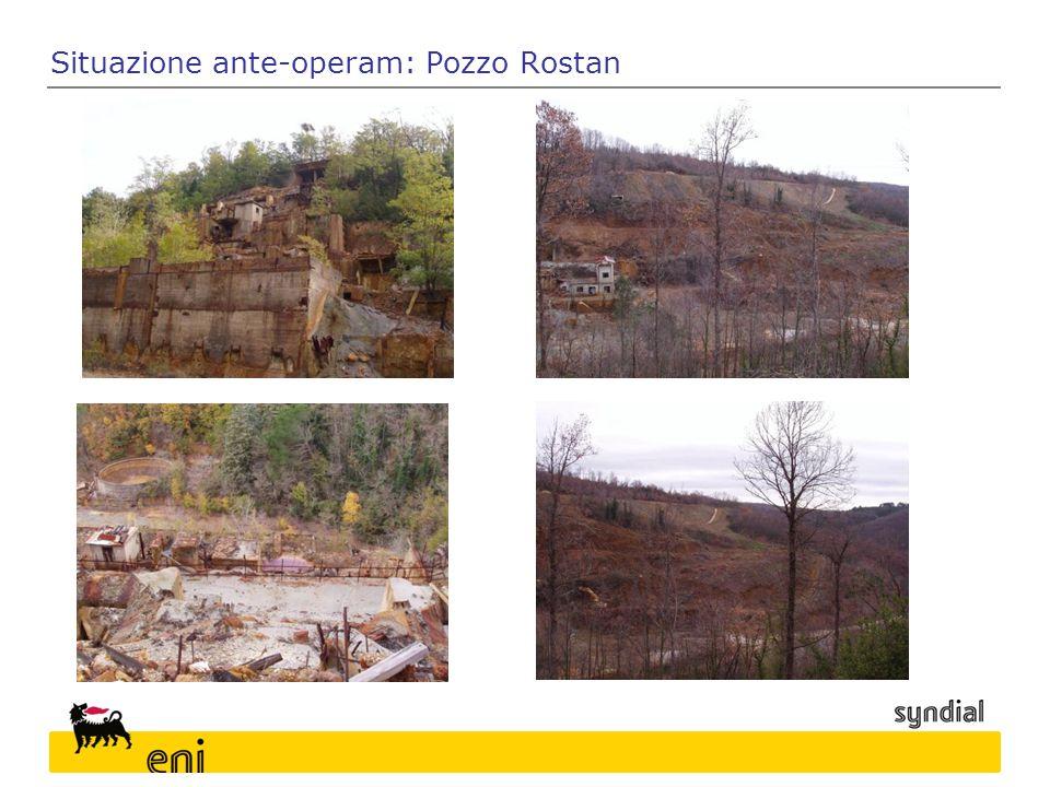 Situazione ante-operam: Pozzo Rostan