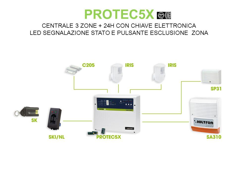 XMA6000 CENTRALE MULTIPLEXER 6 ZONE BILANCIATE / 200 PUNTI MPX