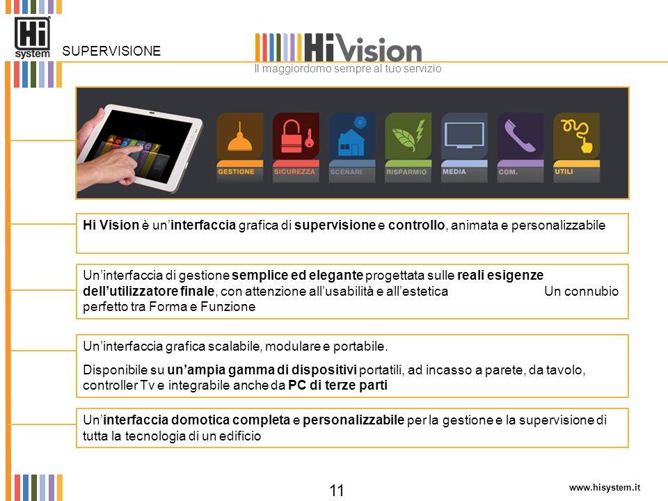 www.hisystem.it 11 Un'interfaccia di gestione semplice ed elegante progettata sulle reali esigenze dell'utilizzatore finale, con attenzione all'usabil