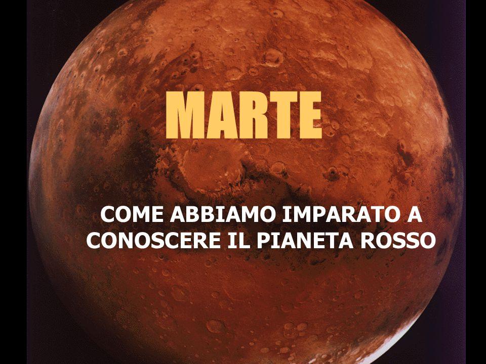E' il 1877 : il pianeta Marte comincia a destare un certo interesse Giovanni Schiaparelli Il telescopio Merz usato da Schiaparelli