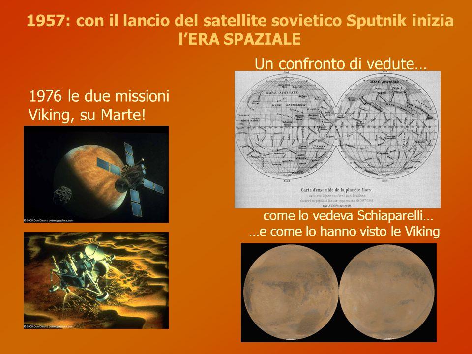 Un confronto di vedute… 1976 le due missioni Viking, su Marte.