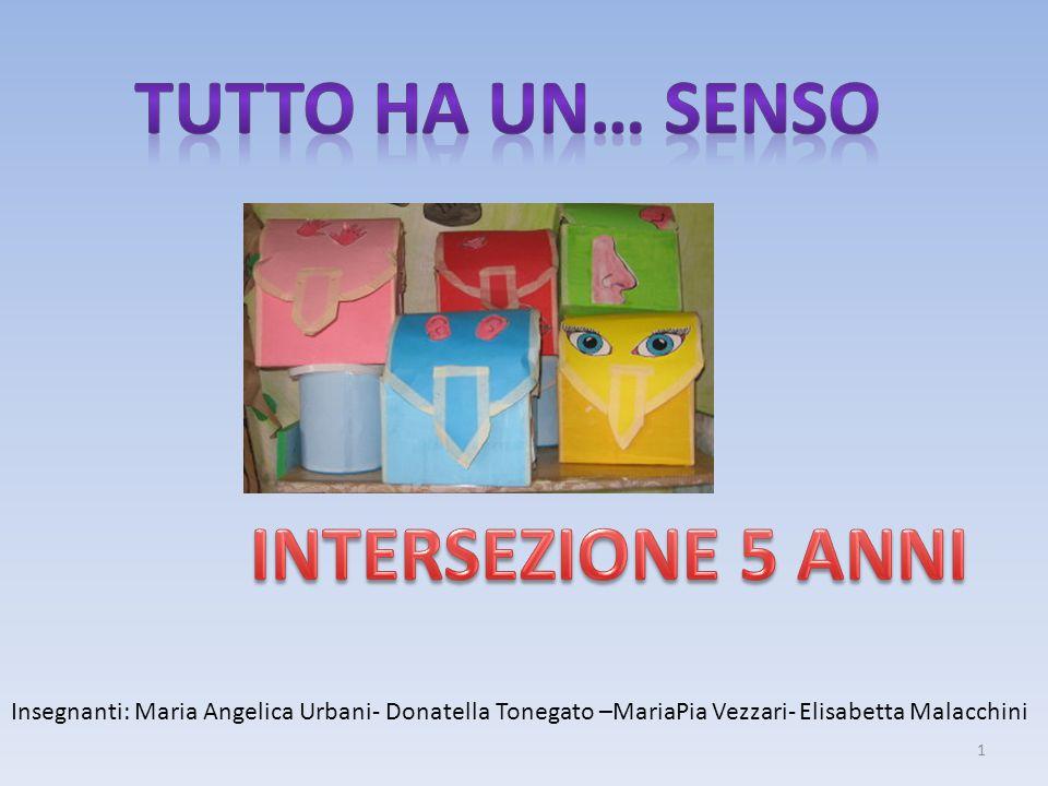 Insegnanti: Maria Angelica Urbani- Donatella Tonegato –MariaPia Vezzari- Elisabetta Malacchini 1
