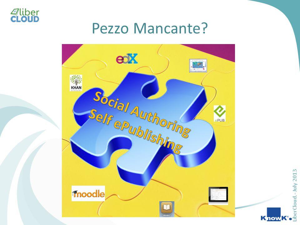LiberCloud.- July 2013 Pezzo Mancante