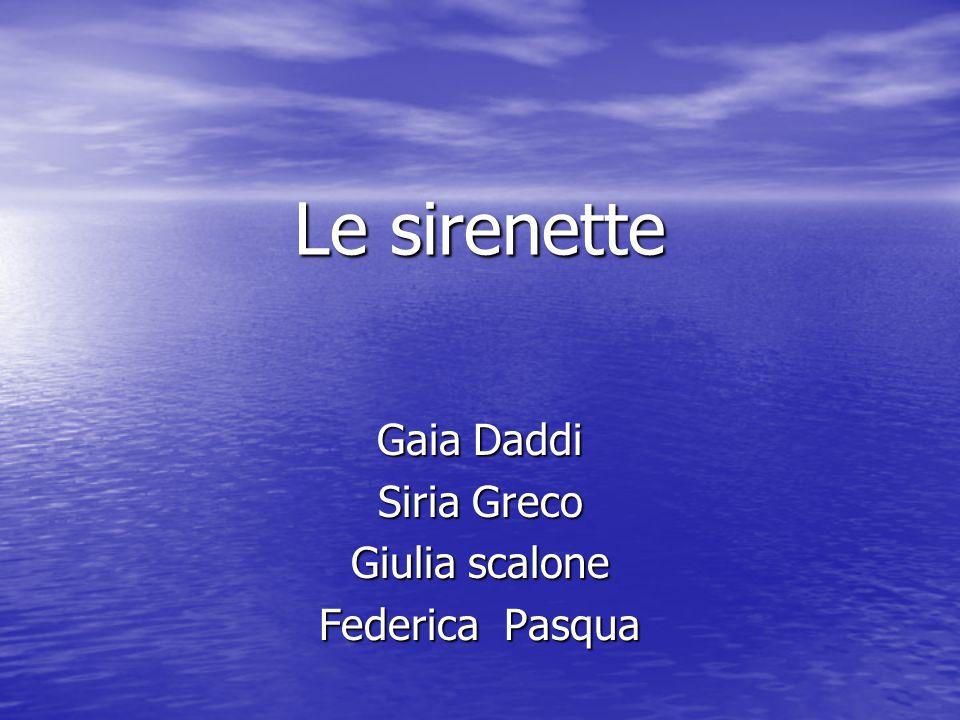 Una giornata magica Io e Federica siamo amiche Un giorno siamo andate al mare e lì abbiamo incontrato Siria che da Venezia si era trasferita in Sicilia.