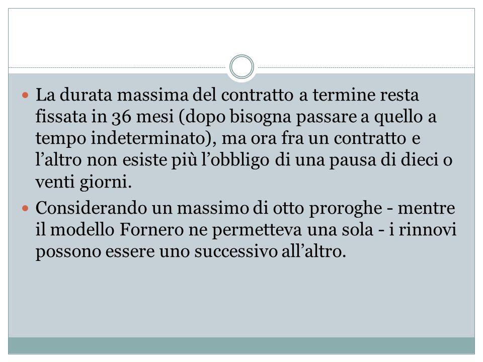 Decreto Renzi Uno dei principali paletti caduti è quello dell'acausalità (ovvero la possibilità riconosciuta al datore di lavoro di non specificare le