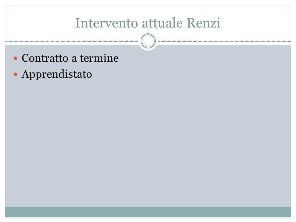 Renzi Jobs Act Contratto unico Servizi per l'impiego: riforma http://www.left.it/2014/01/31/jobs-act-i-nodi-che-renzideve-sciogliere/14694/