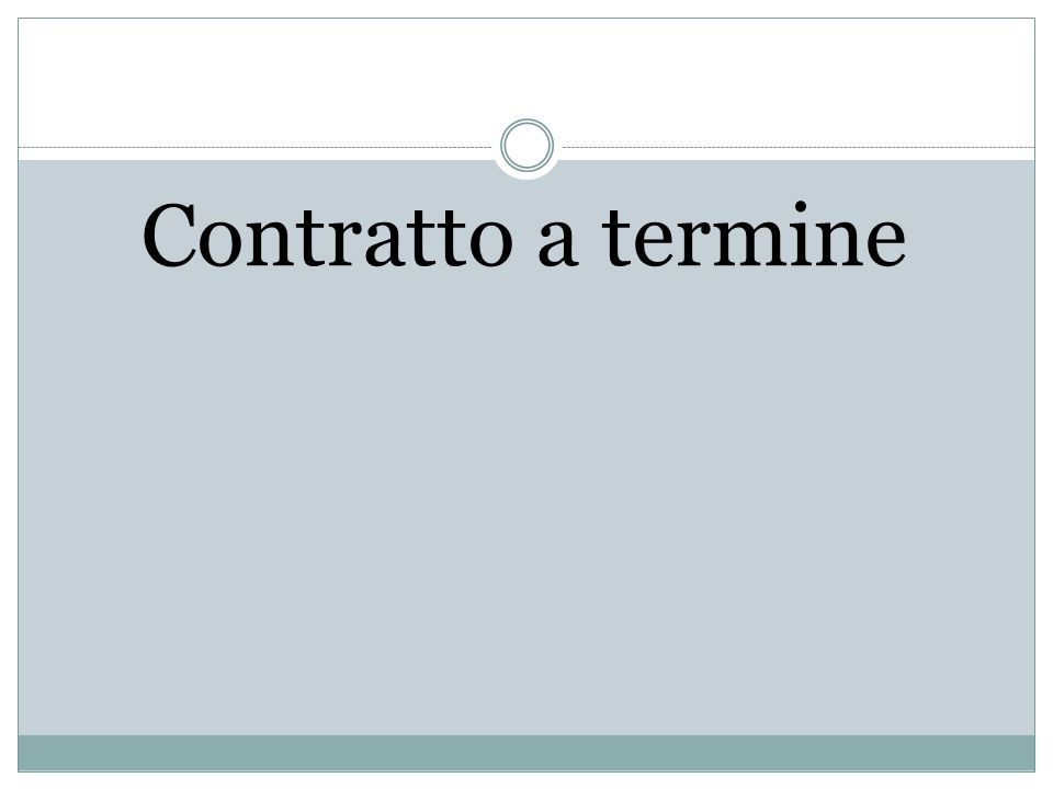 Intervento attuale Renzi Contratto a termine Apprendistato