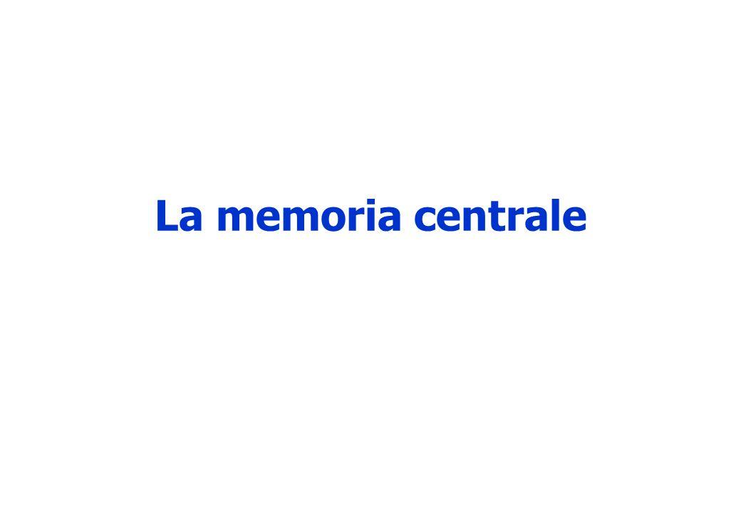 La memoria centrale