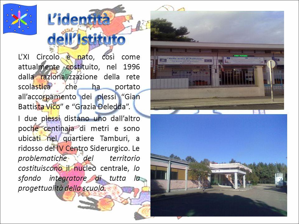 L'XI Circolo è nato, così come attualmente costituito, nel 1996 dalla razionalizzazione della rete scolastica che ha portato all'accorpamento dei plessi Gian Battista Vico e Grazia Deledda .
