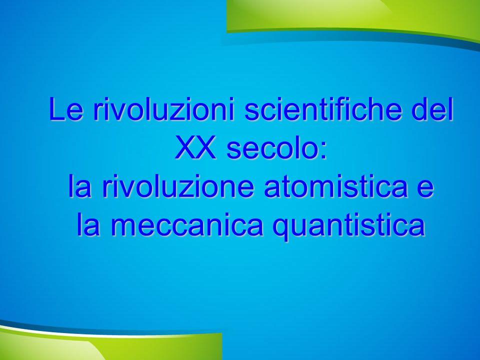 La proposta di Max Planck (1901) Un oscillatore di frequenza  non può assumere TUTTI i valori di energia ma solo valori discreti, cioè proporzionali ad una costante