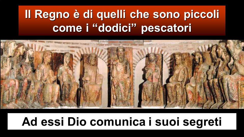 Gli si avvicinarono allora i discepoli e gli dissero: «Perché a loro parli con parabole?». Egli rispose loro: «Perché a voi è dato conoscere i misteri