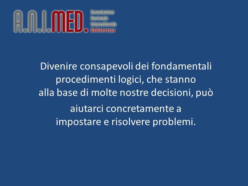Divenire consapevoli dei fondamentali procedimenti logici, che stanno alla base di molte nostre decisioni, può aiutarci concretamente a impostare e ri