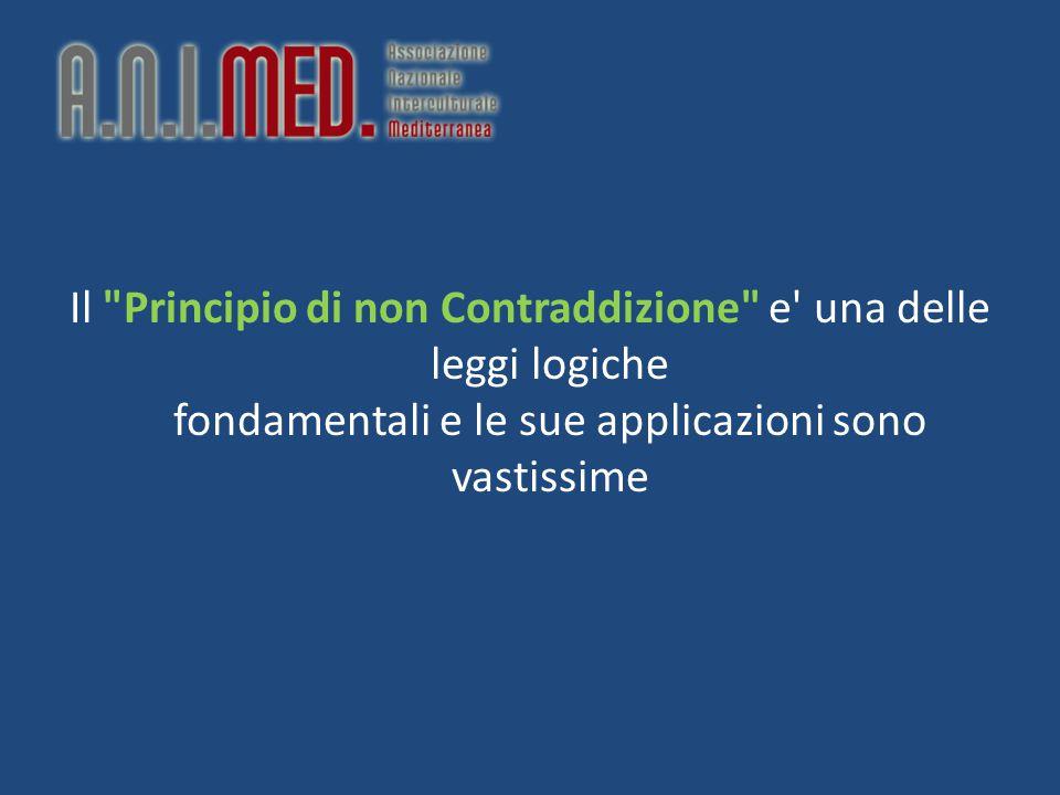 Il Principio di non Contraddizione e una delle leggi logiche fondamentali e le sue applicazioni sono vastissime