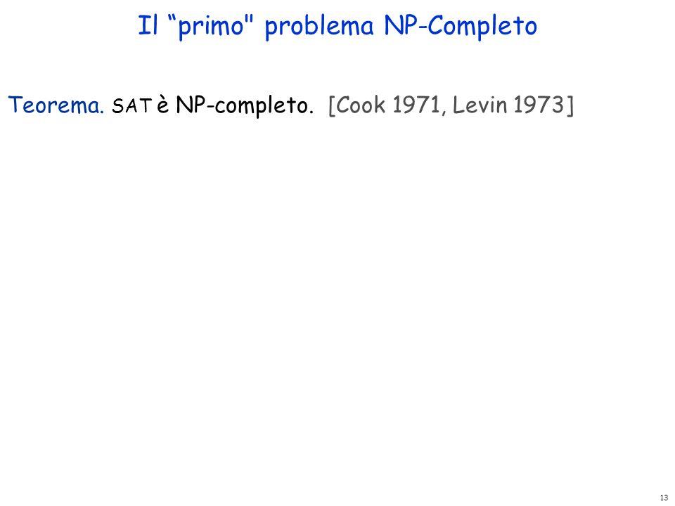 """13 Il """"primo"""