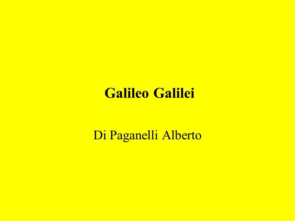 Galileo Galilei Di Paganelli Alberto