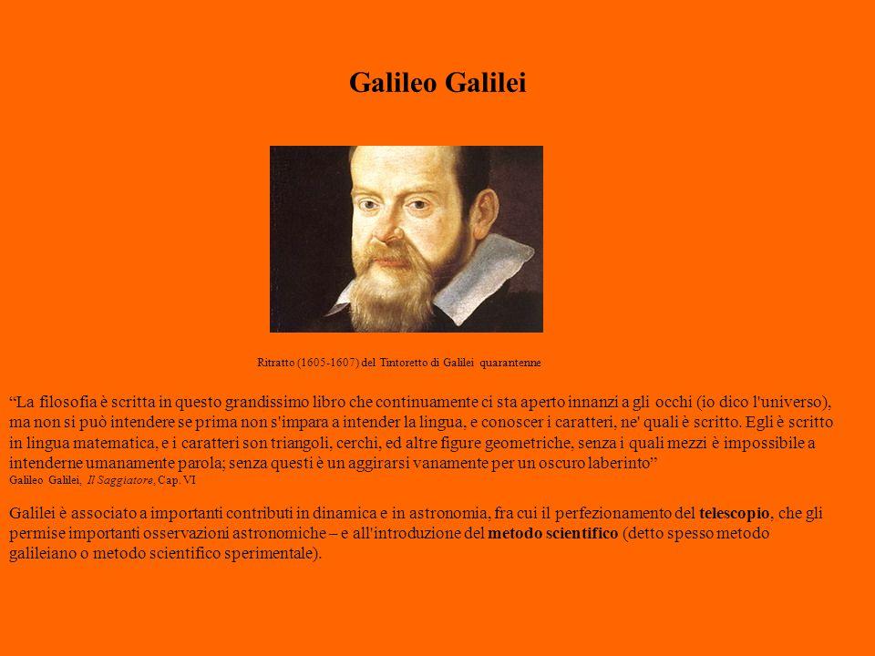 """Galileo Galilei """"La filosofia è scritta in questo grandissimo libro che continuamente ci sta aperto innanzi a gli occhi (io dico l'universo), ma non s"""