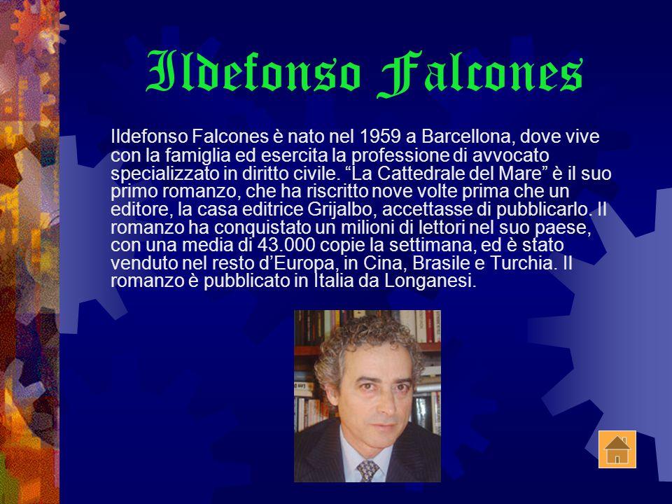 Ildefonso Falcones Ildefonso Falcones è nato nel 1959 a Barcellona, dove vive con la famiglia ed esercita la professione di avvocato specializzato in diritto civile.