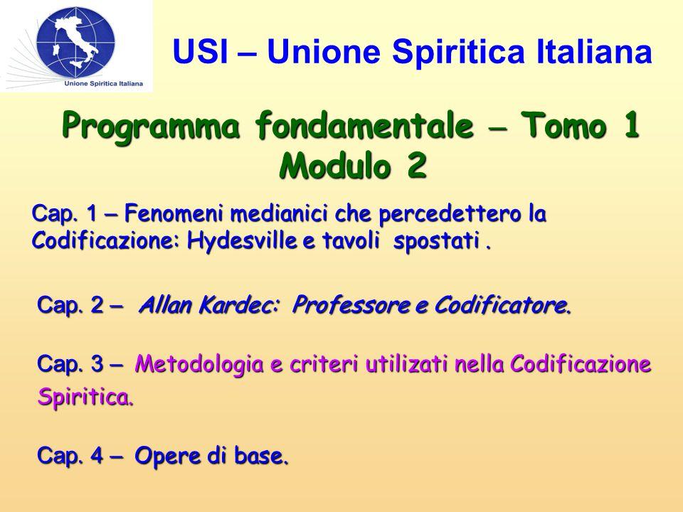 Cap.3 - Metodologia e criteri utilizati nella Codificazione Spiritica.