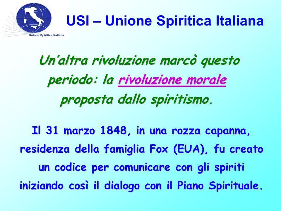 Un'altra rivoluzione marcò questo periodo: la rivoluzione morale proposta dallo spiritismo. Un'altra rivoluzione marcò questo periodo: la rivoluzione