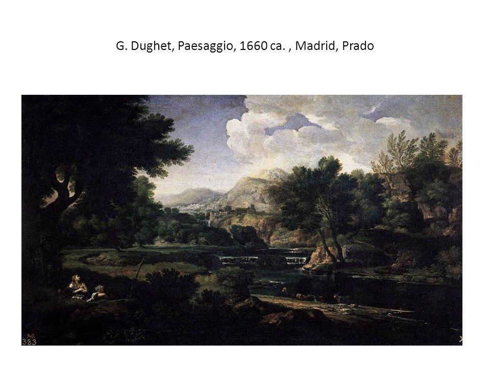 G. Dughet, Paesaggio, 1660 ca., Madrid, Prado