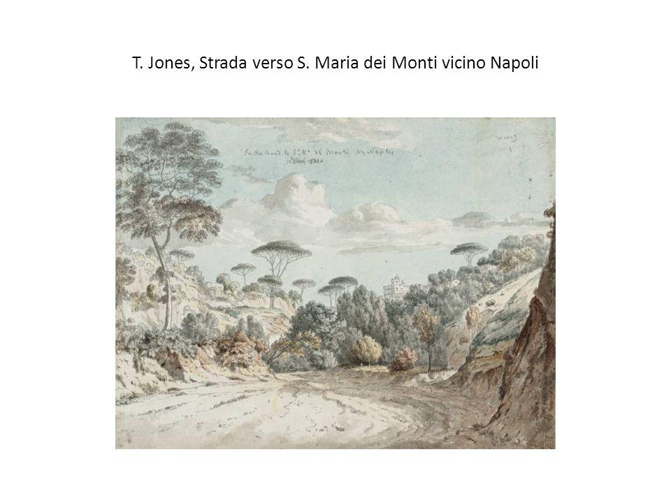 T. Jones, Strada verso S. Maria dei Monti vicino Napoli