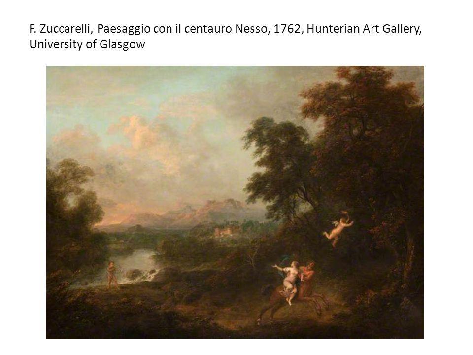 F. Zuccarelli, Paesaggio con il centauro Nesso, 1762, Hunterian Art Gallery, University of Glasgow