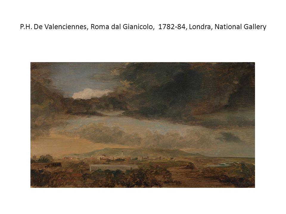 P.H. De Valenciennes, Roma dal Gianicolo, 1782-84, Londra, National Gallery