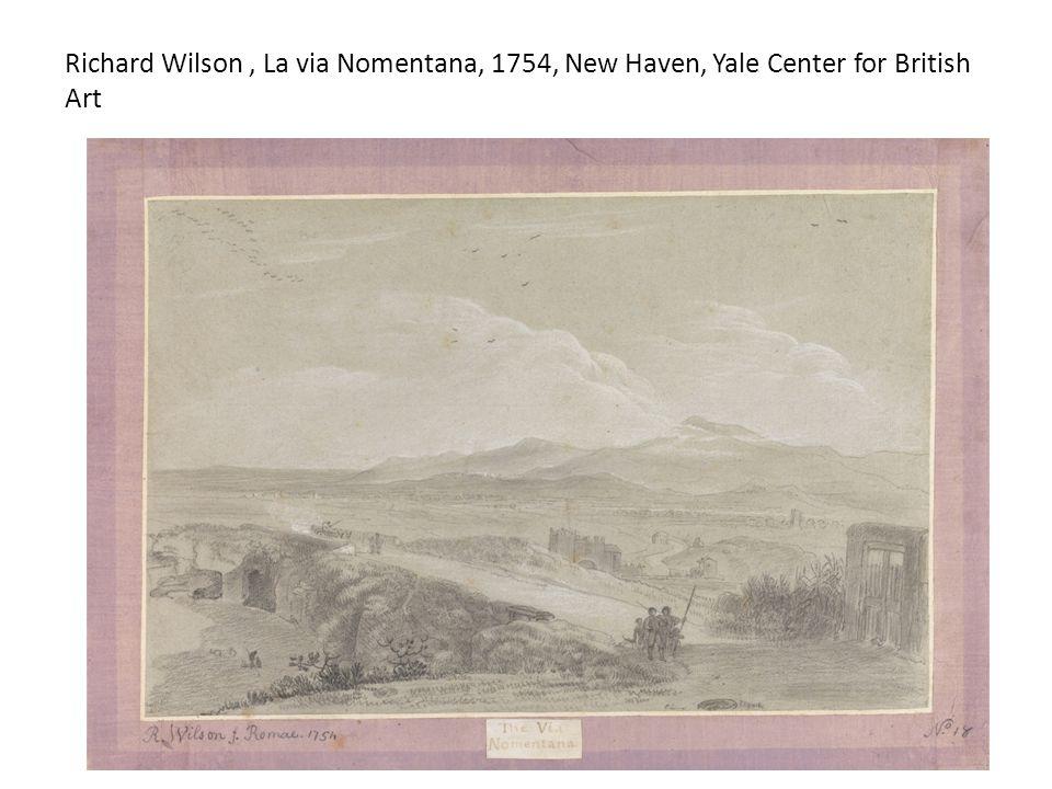 Richard Wilson, La via Nomentana, 1754, New Haven, Yale Center for British Art