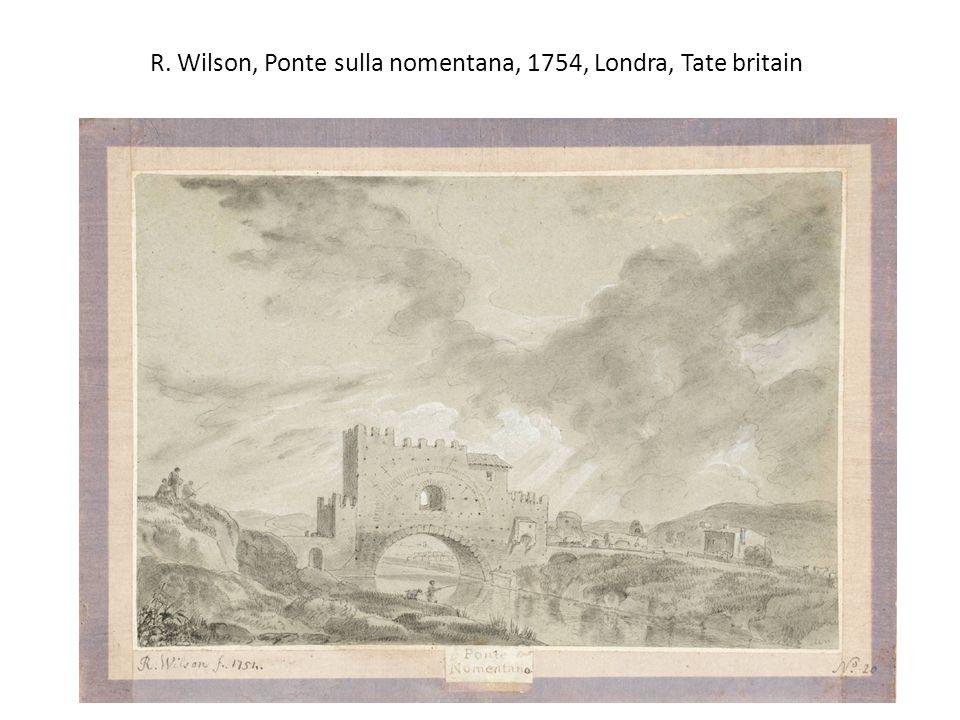 R. Wilson, Ponte sulla nomentana, 1754, Londra, Tate britain