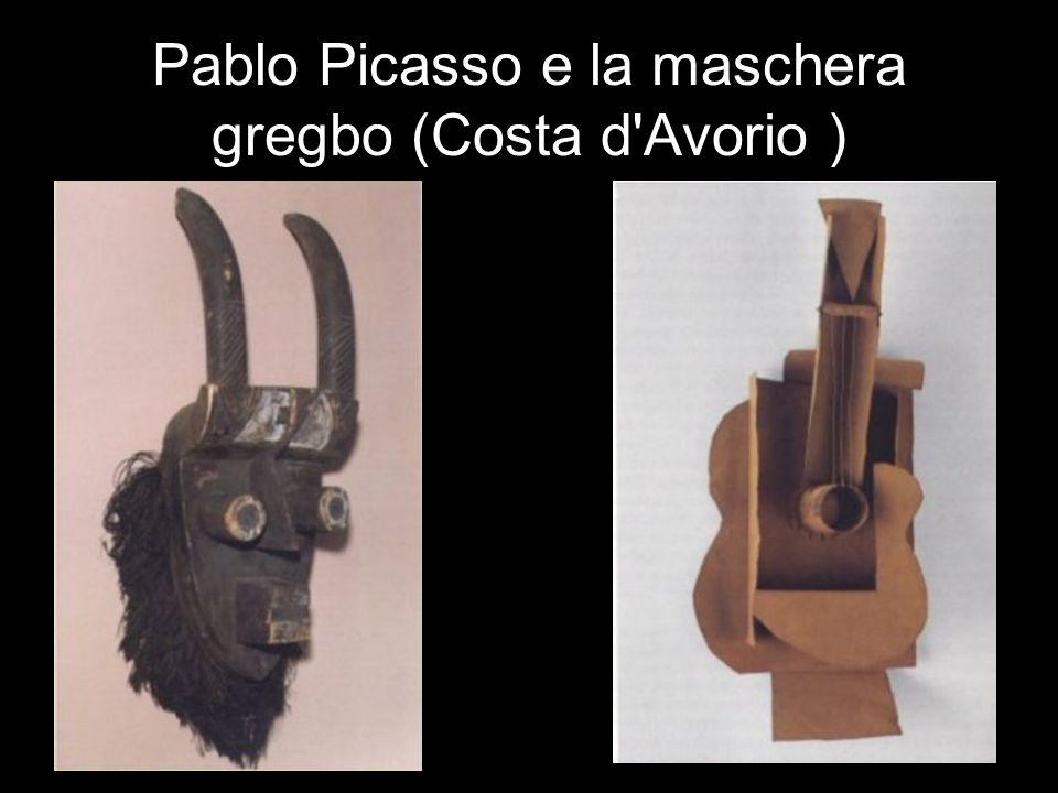 Pablo Picasso e la maschera gregbo (Costa d'Avorio )