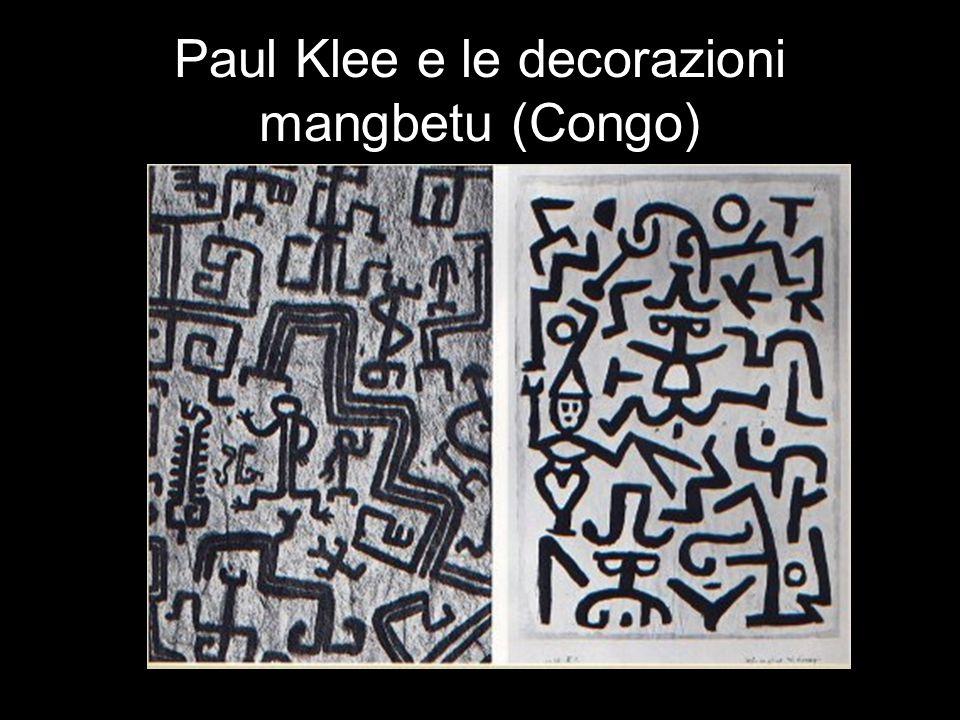 Paul Klee e le decorazioni mangbetu (Congo)