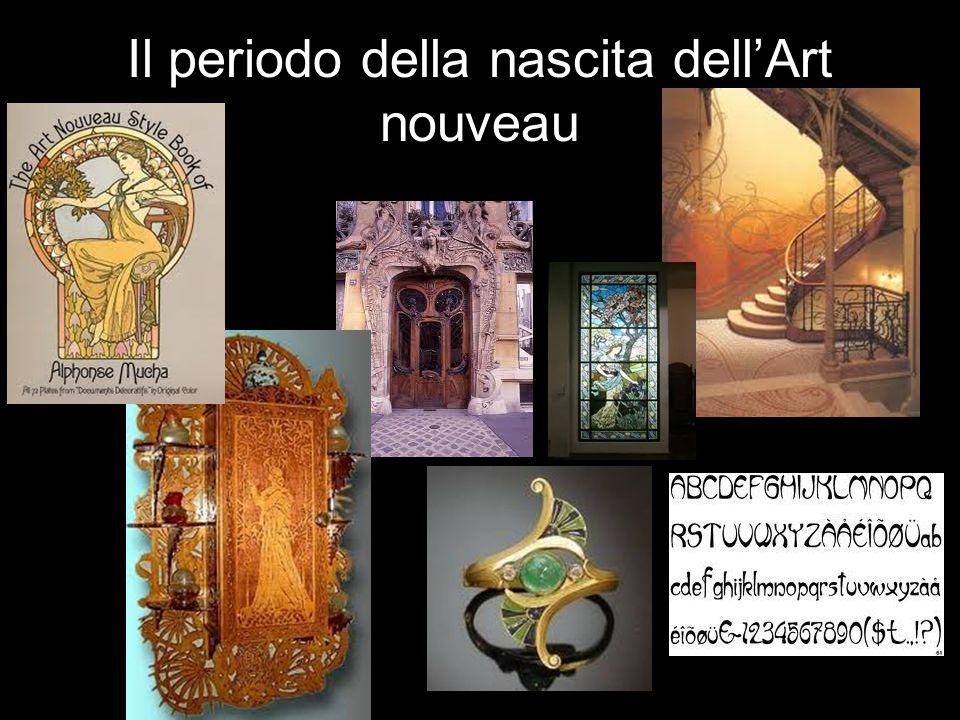 Il periodo della nascita dell'Art nouveau