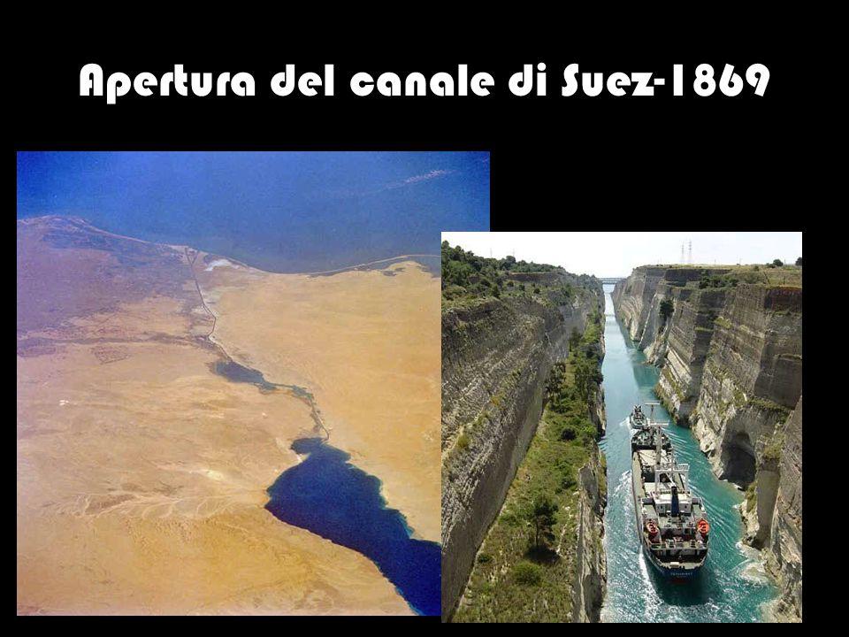Apertura del canale di Suez-1869