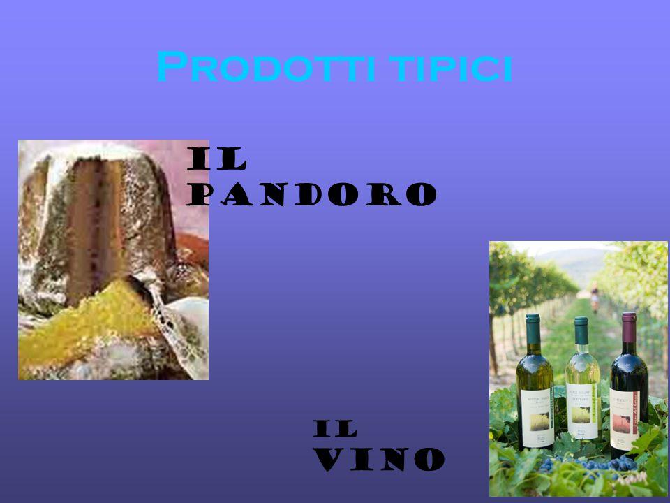Prodotti tipici Il pandoro Il vino