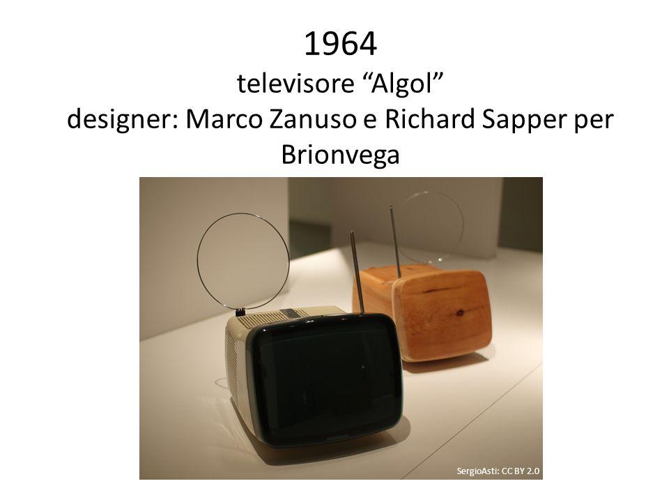 1964 televisore Algol designer: Marco Zanuso e Richard Sapper per Brionvega SergioAsti: CC BY 2.0