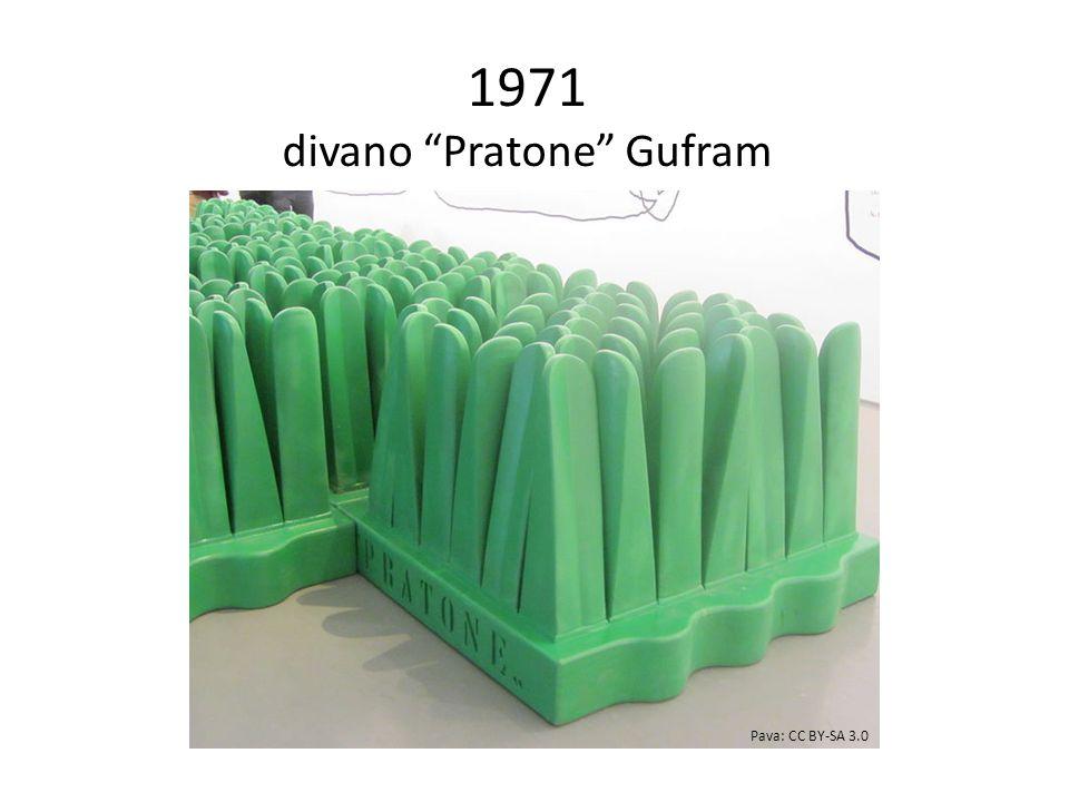 1971 divano Pratone Gufram Pava: CC BY-SA 3.0