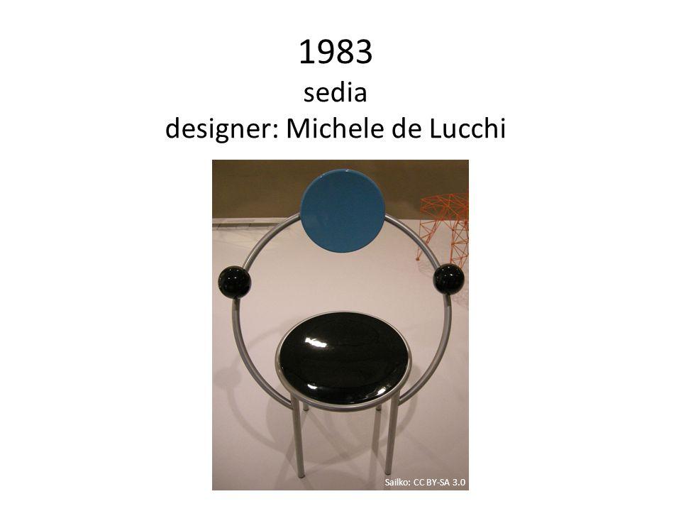1983 sedia designer: Michele de Lucchi Sailko: CC BY-SA 3.0