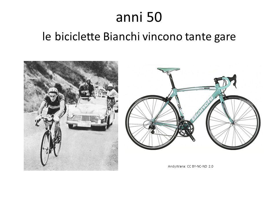 anni 50 le biciclette Bianchi vincono tante gare AndyWana: CC BY-NC-ND 2.0