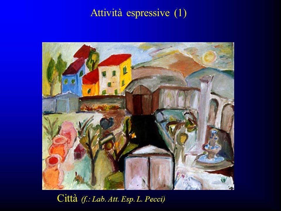 Città (f.: Lab. Att. Esp. L. Pecci) Attività espressive (1)