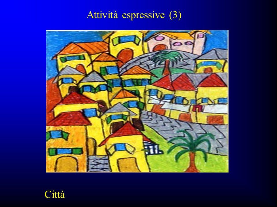 Attività espressive (3) Città