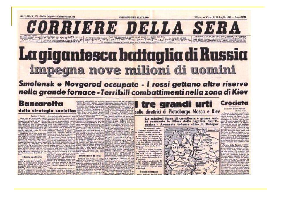 """""""Operazione Barbarossa"""" (22 giugno 1941)"""