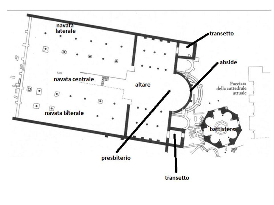 Informazioni storiche La basilica è stata costruita nel IV secolo nella zona allora nota come Horti Laterani, antichi possedimenti della famiglia dei Laterani confiscati ed entrati a far parte delle proprietà imperiali al tempo di Nerone.