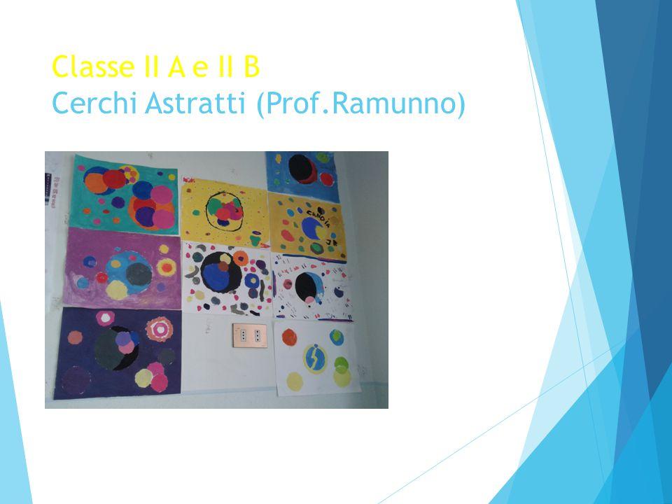 Classe II A e II B Cerchi Astratti (Prof.Ramunno)